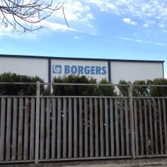Trabajo de pintura en Borgers Madrid
